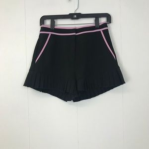 English Factory Black Shorts
